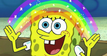 The Truth Behind Nickelodeon's Pride Post About SpongeBob
