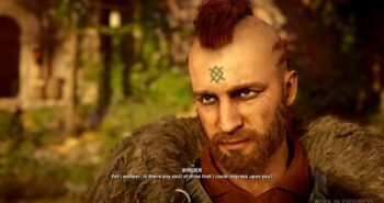 Eivor from Assassin's Creed Valhalla can be gay, have sex in public