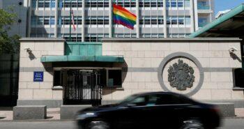 Putin mocks U.S. embassy for flying rainbow flag – Reuters India