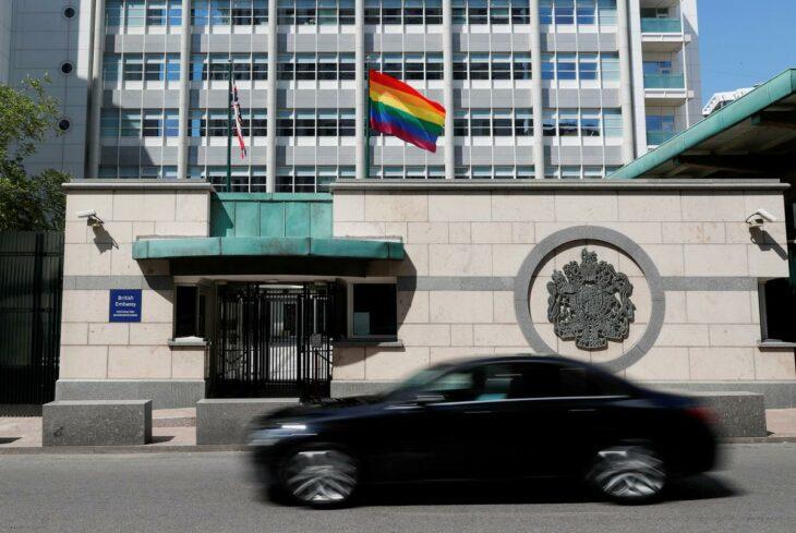 Putin mocks U.S. embassy for flying rainbow flag – Reuters