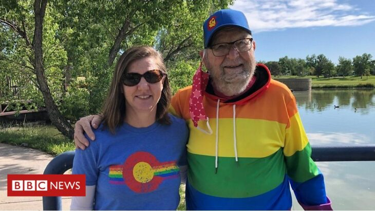 Coming out at 90 years old… to my gay daughter