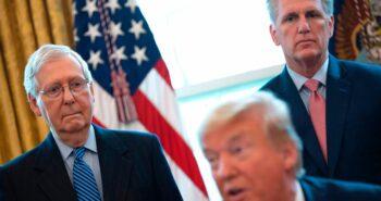 Top House Republican Denounces QAnon, Contradicting Trump