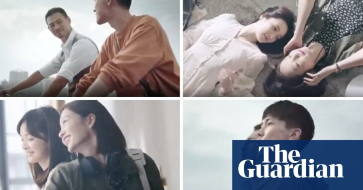 Cartier criticised for 'censoring' gay couples in Chinese ring ads