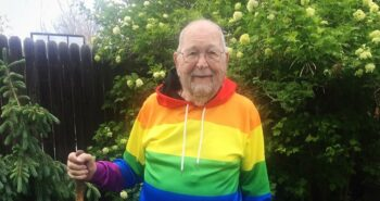 Grandfather, 90, comes out as gay and searches for long-lost love